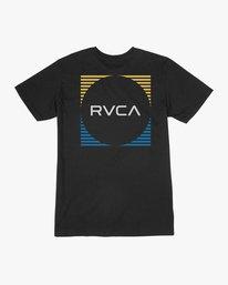 0 Boy's Motorstripe T-Shirt  B401TRMS RVCA