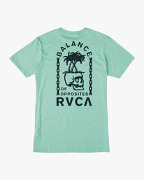 0 Boy's Bad Palms T-Shirt  B401URBA RVCA