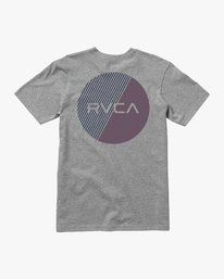 0 Boy's Blind Motors T-Shirt Grey B401URBM RVCA