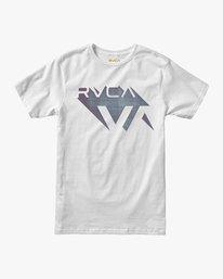 0 Boy's 3D VA T-Shirt White B401URDV RVCA