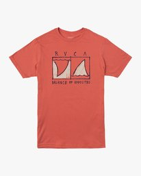 0 Boy's Horton Finner T-Shirt Green B401VRFI RVCA