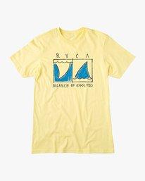 0 Boy's Horton Finner T-Shirt Yellow B401VRFI RVCA