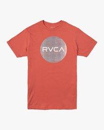 0 Boy's Motors Mix T-Shirt Grey B401VRMM RVCA