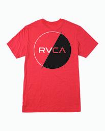 0 Boys Lateral T-Shirt Grey B401WRLA RVCA