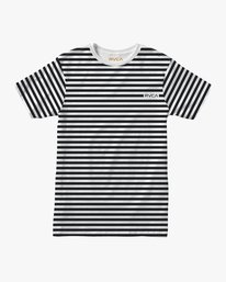 0 Boy's House Stripe T-Shirt  B406TRHO RVCA