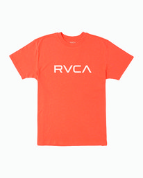 0 BOY'S BIG RVCA T-SHIRT  B406WRBI RVCA