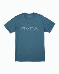 0 Boy's Big RVCA T-Shirt Blue B406WRBI RVCA
