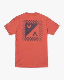0 Boy's Check Mate T-Shirt  B407VRCH RVCA