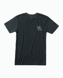 0 Boys VAPOR SHORT SLEEVE T-SHIRT Black B4093RVA RVCA