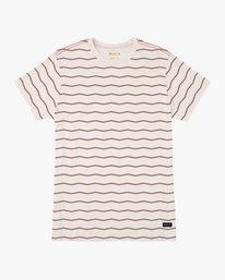 0 Boy's VA Stripe T-Shirt  B409PRVA RVCA