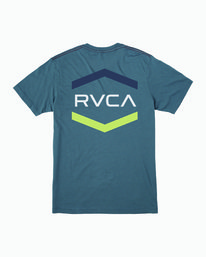 0 Boy's Airborne T-Shirt Red B409WRAI RVCA