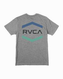 0 Boy's Airborne T-Shirt Grey B409WRAI RVCA