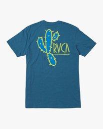 0 Boy's Spiked T-Shirt Blue B410QRSP RVCA