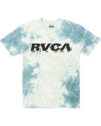 0 Boys SPEED WOBBLE SHORT SLEEVE T-SHIRT Green B4153RSP RVCA