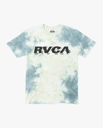 0 Boys SPEED WOBBLE SHORT SLEEVE T-SHIRT Green B4153RSP RVCA