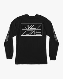 0 Boy's Reflector Long Sleeve T-Shirt  B451SRRE RVCA