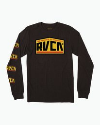 0 ROADSIDE LS Black B451SRRO RVCA