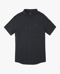 0 Boy's Legacy Button-Up Shirt Blue B501SRLE RVCA