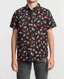 1 Boys Tom Gerrard Shirt Black B503TRTG RVCA