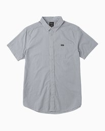 0 Boy's Staple Woven Button-Up Shirt  B505QRST RVCA