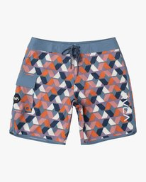 0 Boys Eastern Boardshorts Red B5104EAS RVCA