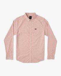 0 Boy's That'll Do Stretch Long Sleeve Shirt Brown B511QRTL RVCA