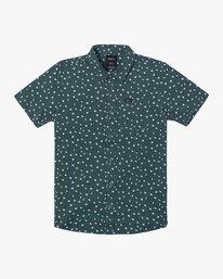 0 Boy's Prelude Floral Shirt Grey B511VRPF RVCA