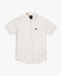 0 Boy's Prelude Floral Shirt White B511VRPF RVCA
