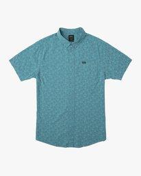 0 Boy's Jah Va Shirt Blue B519TRJV RVCA