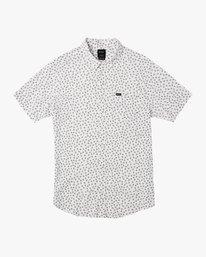 0 Boy's Ficus Floral Shirt White B520TRBF RVCA