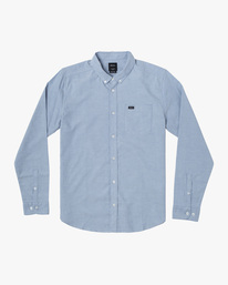 0 BOYS THATLL DO STRETCH LONG SLEEVE SHIRT Blue B526VRTL RVCA