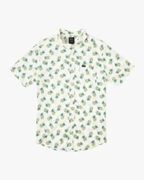 0 Boy's ANP Pack Button-Up Shirt White B561URPP RVCA