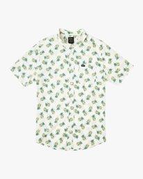 0 Boy's ANP Pack Button-Up Shirt White B561URPP RVCA