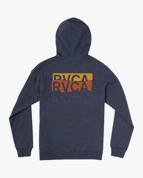 0 Boy's Warehouse Stack Hoodie Blue B601VRWA RVCA