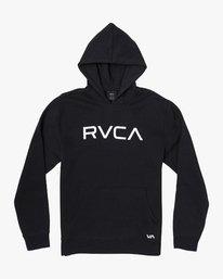 0 BIG RVCA HOODIE Black B601WRBR RVCA