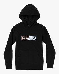 0 LOGO PACK HOODIE Black B601WRLO RVCA