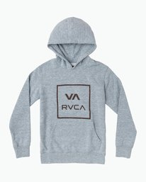 0 Boy's Fill All The Way Hoodie  B606SRPB RVCA