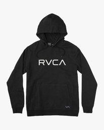 0 Boy's Big RVCA Hoodie  B611VROB RVCA