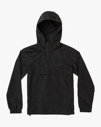 0 Boys Killer Anorak Jacket Orange B722VRKI RVCA