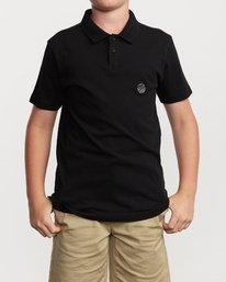 1 Boys Delancy Polo Shirt  B908VRPP RVCA