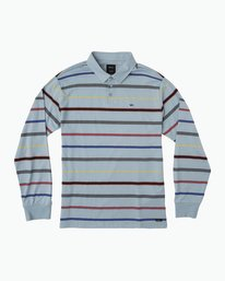 0 Boy's Sure Thing Striped Polo  B952SRSP RVCA