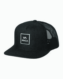 0 Boys VA All The Way Trucker Hat Black BAAHWVAA RVCA