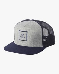 0 BOYS VA ATW TRUCKER HAT Grey BAAHWVAA RVCA