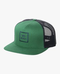 0 BOY'S VA ALL THE WAY TRUCKER HAT Green BAAHWVAA RVCA