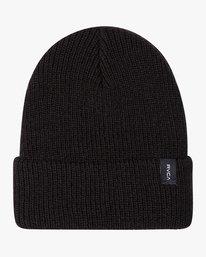 0 Boy's Dayshift II Knit Beanie Black BABNWRDB RVCA