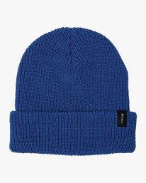 0 Boy's Dayshift II Knit Beanie Blue BABNWRDB RVCA