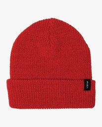 0 Boy's Dayshift II Knit Beanie Red BABNWRDB RVCA