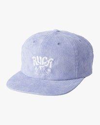 0 BOY'S ACTIVE SNAPBACK HAT Blue BAHW1RAV RVCA