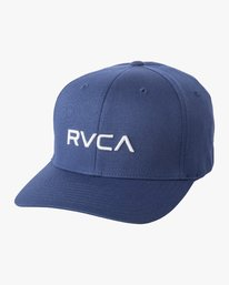 0 BOYS FLEX FIT HAT Blue BAHW1RFF RVCA