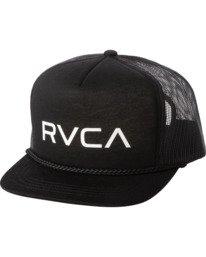 0 Boys RVCA FOAMY TRUCKER BOYS Black BAHW2RFT RVCA
